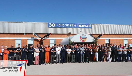 TUSAŞ Uçuş Test Mühendisliği Ekibi'ne büyük ödül