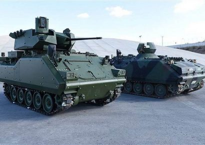 Turkey launches a program to modernize Turkish Army ACV-15 AFV Armored Fighting Vehicle