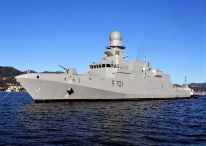 Qatar's New Air Defense Corvette Starts Sea Trials